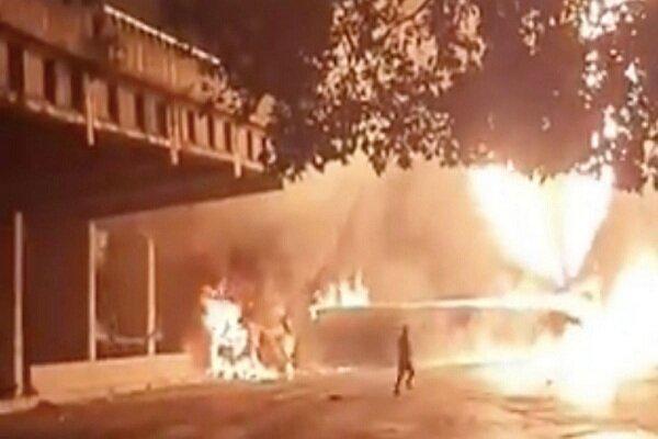 انفجار در کاراکاس پایتخت ونزوئلا,اخبار حوادث,خبرهای حوادث,حوادث امروز