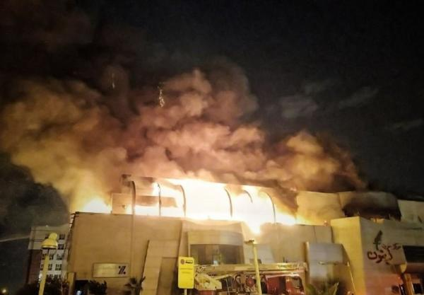 آتشسوزی در مرکز تجاری زیتون تهران,اخبار حوادث,خبرهای حوادث,حوادث امروز