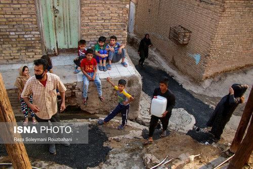 بی آبی در خیابان فرعی یکم,اخبار اجتماعی,خبرهای اجتماعی,شهر و روستا