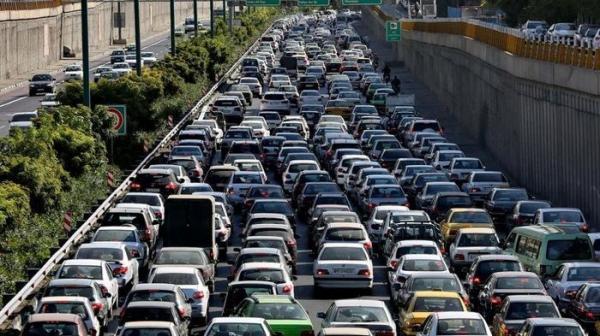 ترافیک تهران,اخبار اجتماعی,خبرهای اجتماعی,وضعیت ترافیک و آب و هوا