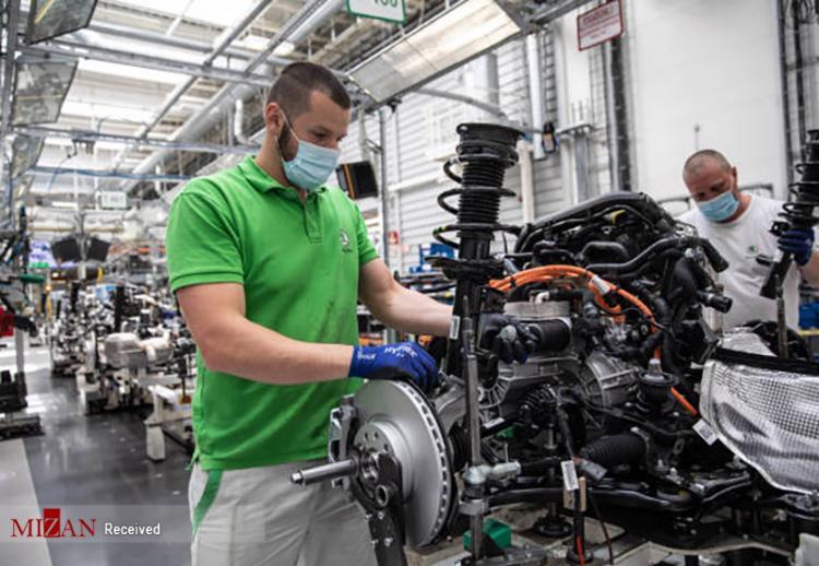 تصاویر کارخانه تولید خودرو هیبریدی در چک,عکس های کارخانه تولید ماشین هیبریدی در جمهوری چک,تصاویری از کارخانههای تولید خودرو در کشور چک