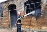 آتش سوزی کارخانه تولیدی در ورامین,کار و کارگر,اخبار کار و کارگر,حوادث کار
