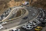 جاده چالوس و هراز,اخبار اجتماعی,خبرهای اجتماعی,وضعیت ترافیک و آب و هوا