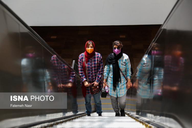 تصاویر آغاز به کار مجدد مترو اصفهان,عکس های مترو اصفهان,تصاویری از بارگشایی دوباره مترو اصفهان