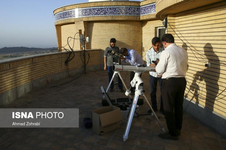 تصاویر استهلال ماه شوال,عکس های استهلال ماه شوال سال 99,تصاویری از استهلال ماه شوال در رمضان 99