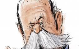 کاریکاتور درباره فوت محمدعلی کشاورز,کاریکاتور,عکس کاریکاتور,کاریکاتور هنرمندان