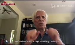 فیلم/ گلایههای بهرام بیضایی از سانسور