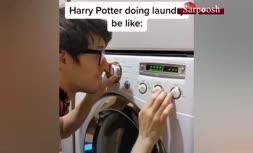 فیلم/ نواختن آهنگ با دکمههای لباسشویی