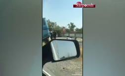فیلم/ حمله مسلحانه به خودرو زندانیان در «میناب» هرمزگان