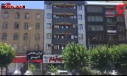 فیلم/ روایت شاهدان عینی از همسرکشی و خودکشی قاتل در گلشهر کرج
