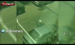 فیلم/ سرقت مسلحانه از یک طلافروشی در ملارد