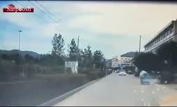 فیلم/ انفجار یک کامیون نفتکش در «چهجیانگ» چین؛ 10 کشته و 117 زخمی