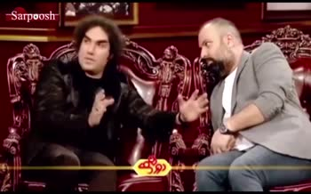 ویدیو لو رفته از شوخی عجیب علی اوجی و رضا یزدانی (برنامه دورهمی)