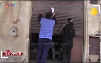 فیلم/ نخستین زن نقاش ساختمان در مصر