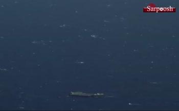 فیلم/ فرود عجیب فالکون 9 در وسط اقیانوس بر روی یک کشتی