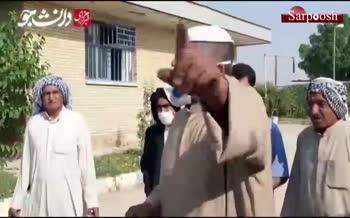 فیلم/ یک معترض در غیزانیه: مسوولان بخشداری گفتند بروید جاده را ببیندید و سپس خود به پاسگاه زنگ زدند