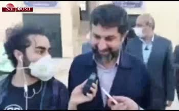 فیلم/ واکنش استاندار خوزستان به اتهام ۲۰۰هزار دلاری