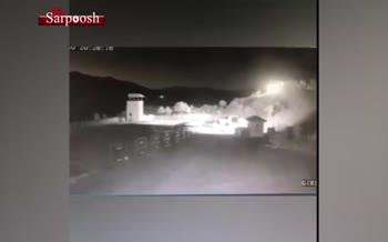 فیلم/ فرود شهاب سنگ در ترکیه