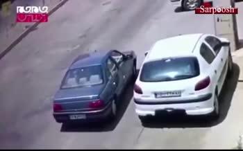 فیلم/ سرقت از پژو 206 در جاده مخصوص فقط در چند ثانیه!