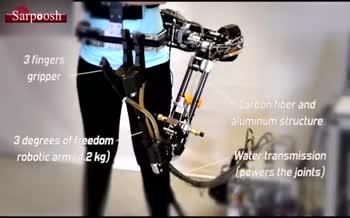 فیلم/ ساخت بازوی رباتیک برای تبدیل شدن به یک ابرقهرمان