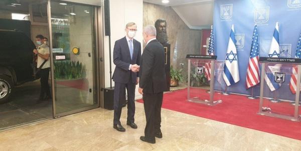 دیدار برایان هوک و نتانیاهو,اخبار سیاسی,خبرهای سیاسی,سیاست خارجی