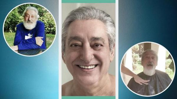 تراشیده شدن ریش ابی,اخبار هنرمندان,خبرهای هنرمندان,بازیگران سینما و تلویزیون
