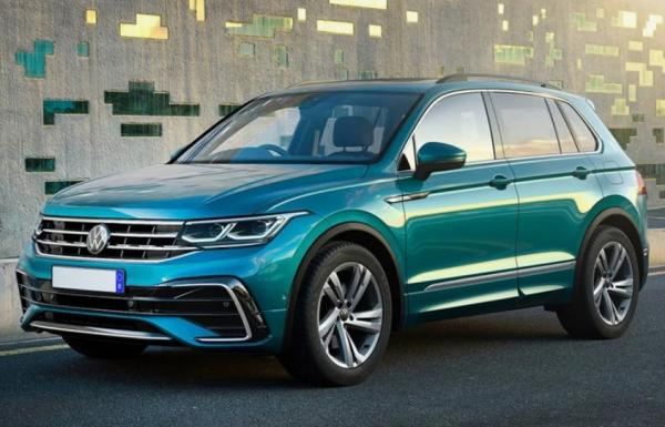 فولکس واگن تیگوان مدل 2022,اخبار خودرو,خبرهای خودرو,مقایسه خودرو