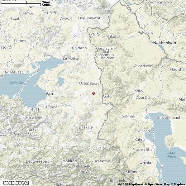 زلزله در قطور,اخبار حوادث,خبرهای حوادث,حوادث طبیعی