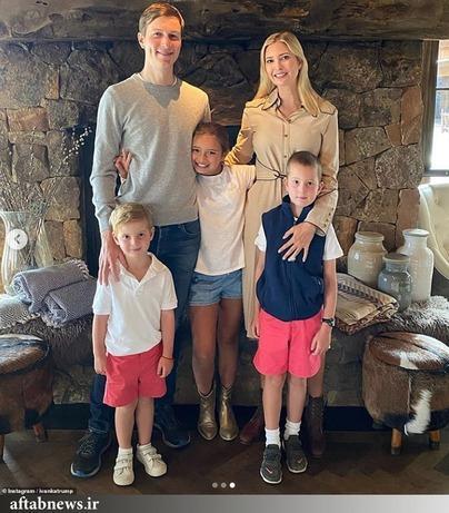 ایوانکا به همراه همسر و فرزندان اش,اخبار سیاسی,خبرهای سیاسی,سیاست