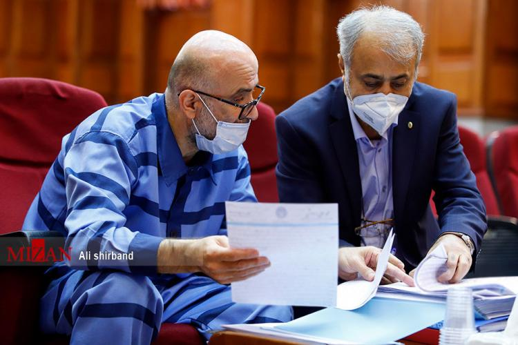 تصاویر دهمین جلسه رسیدگی به اتهامات اکبر طبری,عکس های دادگاه دهم اکبر طبری,تصاویردهمین دادگاه اکبر طبری