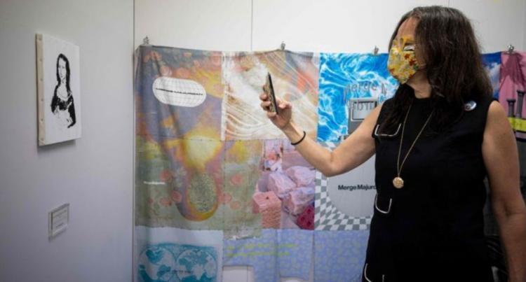 تصاویر نمایشگاه هنر توکیو با قابل سرقت بودن آثار هنری,عکس های نمایشگاه هنر توکیو,تصاویر نمایشگاه هنر توکیو ژاپن