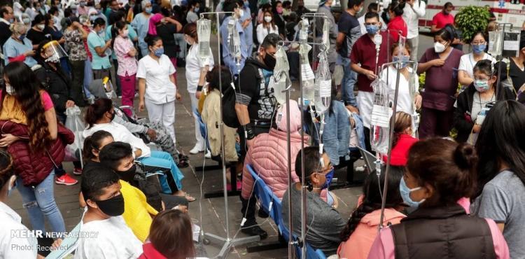 تصاویر زلزله در مکزیک,عکس های زلزله در مکزیک,تصاویری از حوادث مکزیک