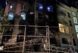 انفجار کلینیک سینا اطهر,اخبار حوادث,خبرهای حوادث,حوادث امروز