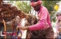 فیلم/ ادعای خدایی توسط پیرمرد مو بلند هندی!