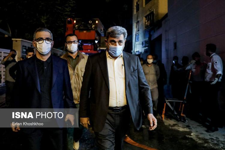 تصاویر انفجار در مرکز درمانی سینا اطهر تهران,عکس های انفجار در یک کلینیک در تهران,تصاویر مصدومان کلینیک درمانی سینا اطهر
