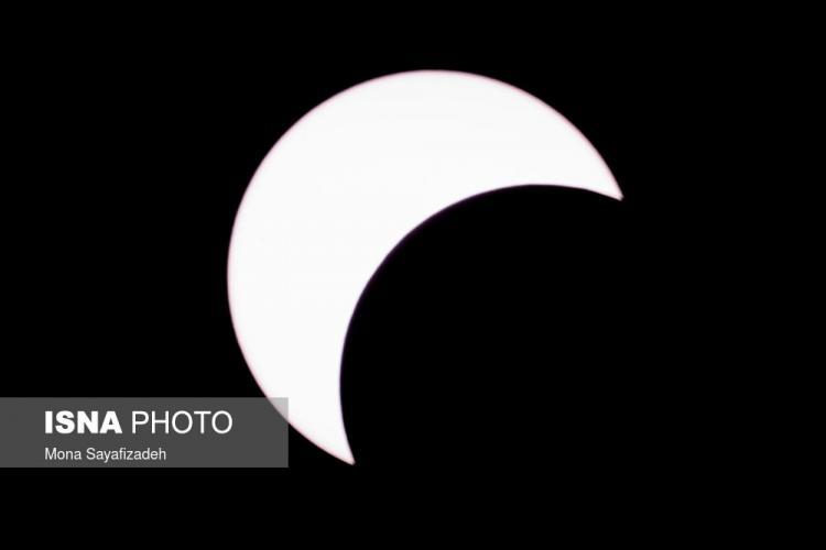 تصاویرآخرین خورشید گرفتگی قرن ۱۴ شمسی,عکس های خورشید گرفتگی در ایران,تصاویر خورشیدگرفتگی 1 تیر 99
