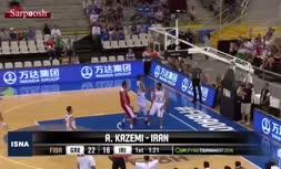 فیلم/ عنوان بهترین «اسلم دانک» بسکتبال جهان برای ارسلان کاظمی