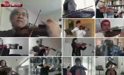 فیلم/ اجرای همایون شجریان با خواننده لبنانی جنجالی شد