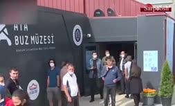 فیلم/ بازگشایی اولین موزه یخی در ترکیه