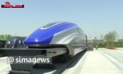 فیلم/ قطاری با سرعت ۶۰۰ کیلومتر بر ساعت در چین