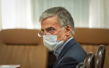تصاویر چهارمین جلسه رسیدگی به اتهامات عباس ایروانی,عکس های دادگاه عباس ایروانی,تصاویری از جلسه چهارم دادگاه عباس ایروانی