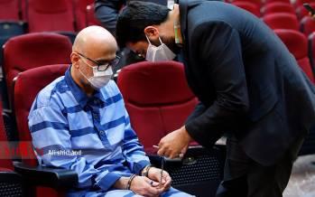 تصاویر پنجمین جلسه رسیدگی به اتهامات اکبر طبری,عکس های دادگاه پنجم اکبر طبری,تصاویر پنجمشین دادگاه اکبر طبری