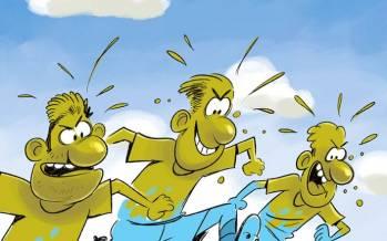 کاریکاتور در مورد ابتلای بازیکنان استقلال به کرونا,کاریکاتور,عکس کاریکاتور,کاریکاتور ورزشی