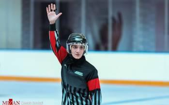 تصاویر مسابقات هاکی روی یخ بانوان در بازار بزرگ ایران,عکس های هاکی بانوان,تصاویر هاکی بانوان در ایران