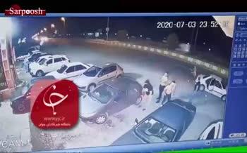فیلم/ حمله وحشیانه اراذل به یک رستوران در مازندران