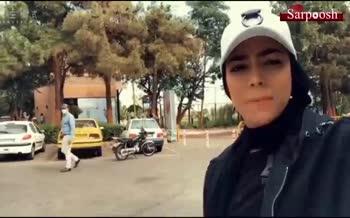 فیلم/ برخورد نامناسب اعضای حراست مجموعه ورزشی انقلاب با سهیلا منصوریان