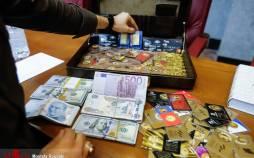 تصاویر سومین جلسه دادگاه برخی از مدیران سابق بانک مرکزی,عکس دادگاه مدیران سابق بانک مرکزی,تصاویری از کیف اعجاب انگیز رشوههای میلیاردی بدهکاران ارزی