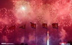 تصاویر جشن شصت و هفتمین سالگرد آتش بس بین دو کره,عکس های جشن آتش بس بین کره جنوبی و شمالی,تصاویری از مراسم شصت و هفتمین سالگرد پایان جنگ دو کره