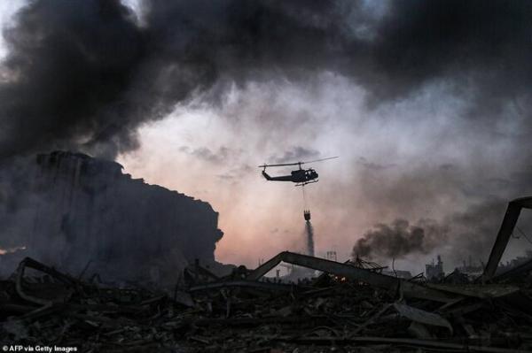 آخرین اخبار از انفجار بیروت,اخبار سیاسی,خبرهای سیاسی,خاورمیانه