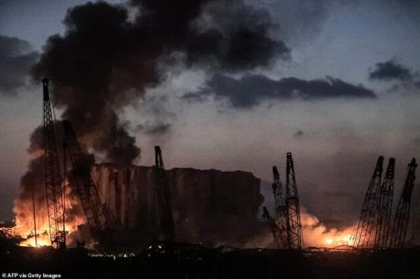 آخرین اخبار انفجار بیروت,اخبار سیاسی,خبرهای سیاسی,خاورمیانه